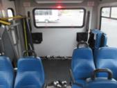 2017 Elkhart Coach Ford E450 18 Passenger and 2 Wheelchair Shuttle Bus Interior-09530-11