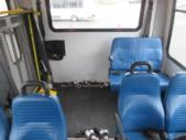 2017 Elkhart Coach Ford E450 18 Passenger and 2 Wheelchair Shuttle Bus Interior-09530-12