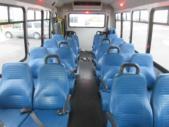 2017 Elkhart Coach Ford E450 18 Passenger and 2 Wheelchair Shuttle Bus Rear exterior-09530-8