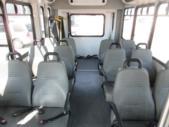 2017 Goshen Coach Ford E350 12 Passenger and 2 Wheelchair Shuttle Bus Rear exterior-09532-8