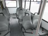 2017 Goshen Coach Ford E350 12 Passenger and 2 Wheelchair Shuttle Bus Front exterior-09533-7