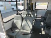 2017 Goshen Coach Ford E350 12 Passenger and 2 Wheelchair Shuttle Bus Interior-09575-10