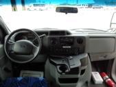 2016 Goshen Coach Ford E450 25 Passenger Shuttle Bus Interior-09667-15