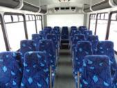 2016 Goshen Coach Ford E450 25 Passenger Shuttle Bus Front exterior-09667-7