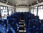 2016 Goshen Coach Ford 25 Passenger Shuttle Bus Front exterior-09668-7