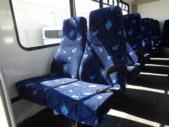 2016 Goshen Coach Ford 25 Passenger Shuttle Bus Rear exterior-09668-8