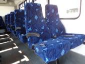 2016 Goshen Coach Ford 25 Passenger Shuttle Bus Interior-09668-9