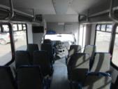 2016 Goshen Coach Ford E450 25 Passenger Shuttle Bus Interior-09669-14