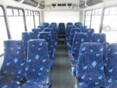 2016 Goshen Coach Ford E450 25 Passenger Shuttle Bus Front exterior-09669-7