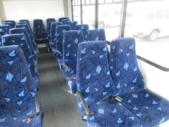 2016 Goshen Coach Ford E450 25 Passenger Shuttle Bus Rear exterior-09669-8