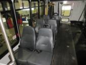 2016 ElDorado Ford E450 6 Passenger and 4 Wheelchair Shuttle Bus Interior-09674-10