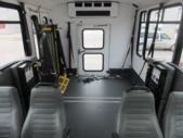 2017 World Trans Ford E350 8 Passenger and 4 Wheelchair Shuttle Bus Interior-09693-11