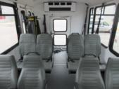 2017 World Trans Ford E350 8 Passenger and 4 Wheelchair Shuttle Bus Interior-09693-12