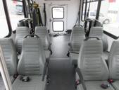 2017 World Trans Ford E350 8 Passenger and 4 Wheelchair Shuttle Bus Rear exterior-09693-8
