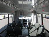 2017 Elkhart Coach Ford E450 16 Passenger and 2 Wheelchair Shuttle Bus Interior-09716-14