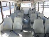 2017 Elkhart Coach Ford E450 16 Passenger and 2 Wheelchair Shuttle Bus Rear exterior-09716-8