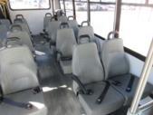 2017 Elkhart Coach Ford E450 16 Passenger and 2 Wheelchair Shuttle Bus Interior-09716-9