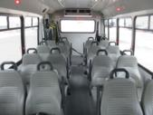 2017 Elkhart Coach Ford E450 16 Passenger and 2 Wheelchair Shuttle Bus Interior-09718-9