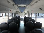 2015 Glaval Ford F550 30 Passenger Shuttle Bus Interior-09725-9
