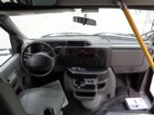 2017 Elkhart Coach Ford E350 12 Passenger and 2 Wheelchair Shuttle Bus Interior-09741-12