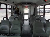 2017 Elkhart Coach Ford E350 12 Passenger and 2 Wheelchair Shuttle Bus Front exterior-09741-7