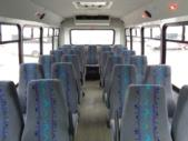 2018 Elkhart Coach Chevrolet 25 Passenger Shuttle Bus Front exterior-09792-7