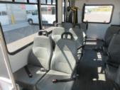 2016 Goshen Coach Ford E350 12 Passenger and 2 Wheelchair Shuttle Bus Interior-09893-10