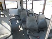 2016 Goshen Coach Ford E350 12 Passenger and 2 Wheelchair Shuttle Bus Interior-09893-9