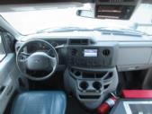 2016 Starcraft Ford E350 0 Passenger and 6 Wheelchair Shuttle Bus Interior-09894-16