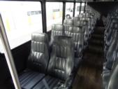 2016 Glaval Ford F550 32 Passenger Shuttle Bus Interior-09898-11