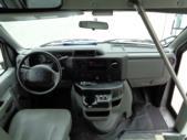2017 Elkhart Coach Ford E350 12 Passenger and 2 Wheelchair Shuttle Bus Interior-09910-12