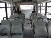 2017 Elkhart Coach Ford E350 12 Passenger and 2 Wheelchair Shuttle Bus Front exterior-09910-7