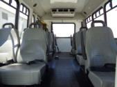 2012 Goshen Coach Ford 12 Passenger and 2 Wheelchair Shuttle Bus Front exterior-09968-7