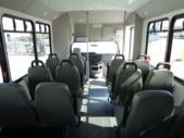 2017 Goshen Ford 12 Passenger and 2 Wheelchair Shuttle Bus Interior-U10035-11