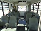 2017 Goshen Ford 12 Passenger and 2 Wheelchair Shuttle Bus Front exterior-U10035-7