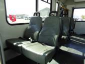 2017 Goshen Ford 12 Passenger and 2 Wheelchair Shuttle Bus Rear exterior-U10035-8