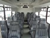 2017 Glaval Ford E-450 24 Passenger Shuttle Bus Front exterior-U10039-7