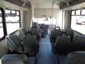 2017 Glaval Ford 12 Passenger and 2 Wheelchair Shuttle Bus Interior-U10053-13