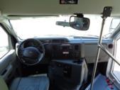 2017 Glaval Ford 12 Passenger and 2 Wheelchair Shuttle Bus Interior-U10053-14