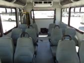 2017 Glaval Ford 12 Passenger and 2 Wheelchair Shuttle Bus Front exterior-U10053-7