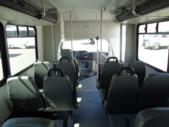 2017 Glaval Ford 12 Passenger and 2 Wheelchair Shuttle Bus Interior-U10055-12