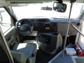 2017 Glaval Ford 12 Passenger and 2 Wheelchair Shuttle Bus Interior-U10055-13