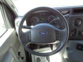 2017 Glaval Ford 12 Passenger and 2 Wheelchair Shuttle Bus Interior-U10055-14