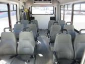 2016 Elkhart Coach Ford 12 Passenger and 2 Wheelchair Shuttle Bus Rear exterior-U10057-8
