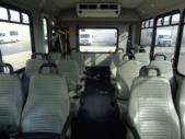 2014 Goshen Coach Ford 12 Passenger and 2 Wheelchair Shuttle Bus Front exterior-U10069-7