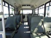 2018 Glaval Ford 11 Passenger and 2 Wheelchair Shuttle Bus Front exterior-U10080-7