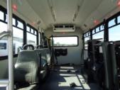 2018 Glaval Ford 3 Passenger and 4 Wheelchair Shuttle Bus Interior-U10083-10