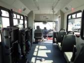 2018 Glaval Ford 3 Passenger and 4 Wheelchair Shuttle Bus Interior-U10083-11