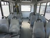 2015 Goshen Coach Ford 12 Passenger and 2 Wheelchair Shuttle Bus Rear exterior-U10092-8