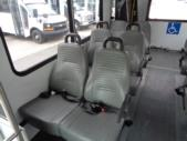 2015 Goshen Coach Ford 12 Passenger and 2 Wheelchair Shuttle Bus Front exterior-U10093-7
